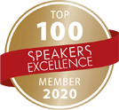Top 100 Speakers Excellence Logo