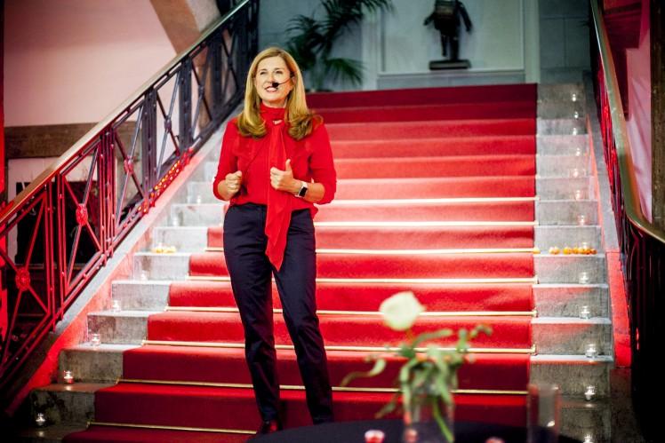 Speakerin Nelly Kostadinova bei Frauen.Wissen.Wirtschaft