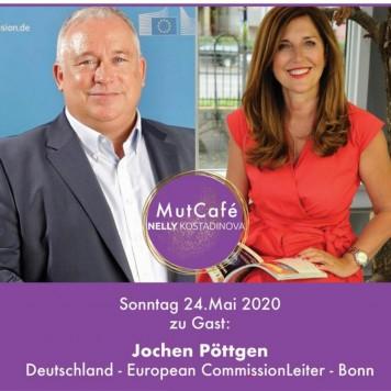 Jochen Pöttgen zu Gast bei Nelly Kostadinova