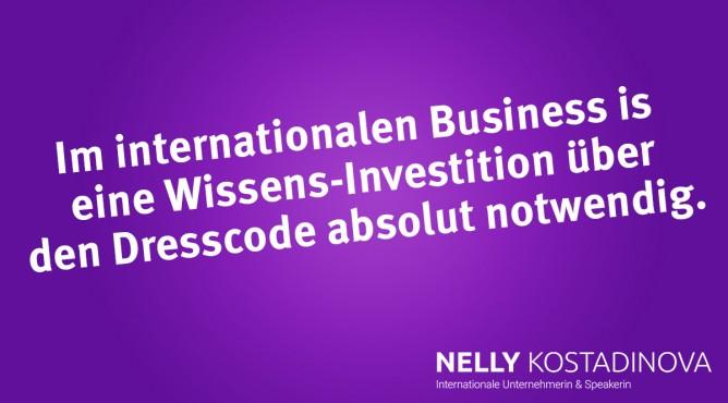 Titelbild zu »Was hat mich zum Erfolg gebracht? – Teil 29: Mein internationaler Dresscode – Eitelkeit oder Investition?«